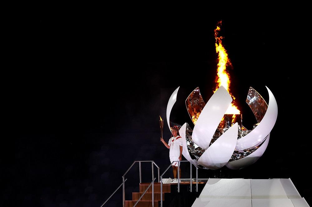 Cerimônia com mensagem de união e superação declara abertura das Olímpiadas