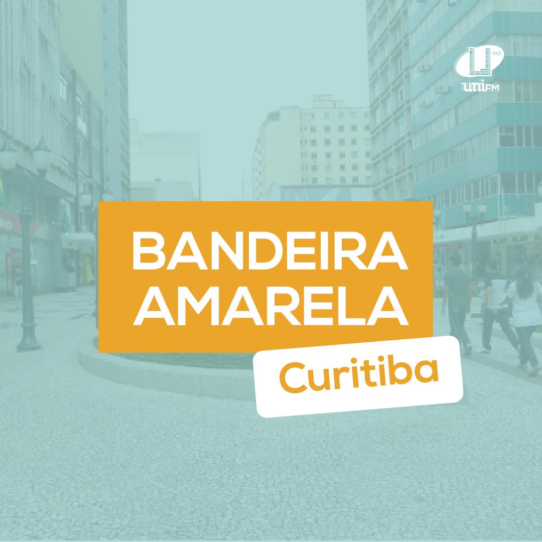 Curitiba mantém bandeira amarela, mas determina fim do toque de recolher