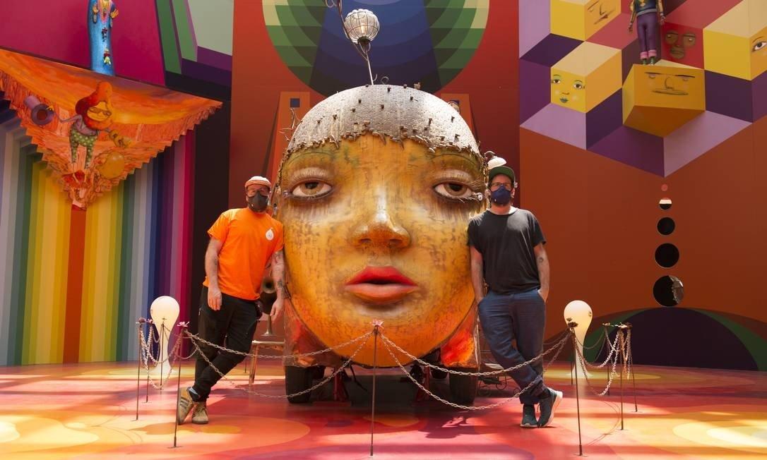 Após grande sucesso na Pinacoteca em São Paulo, exposição d´OSGEMEOS virá para Curitiba