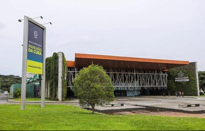 Vacinação contra Covid-19, em Curitiba, passará a ser concentrada no Pavilhão do Parque Barigui