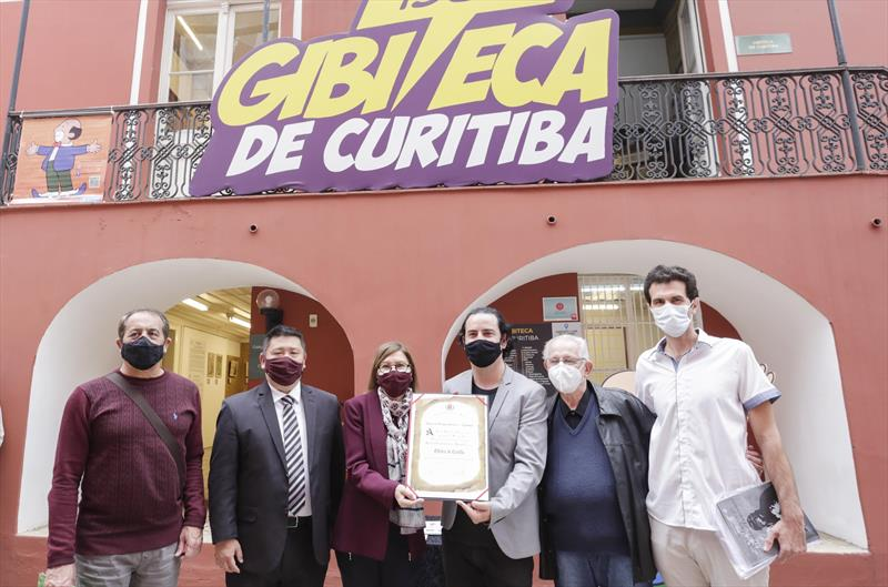 Templo dos ilustradores, Gibiteca de Curitiba recebe homenagem
