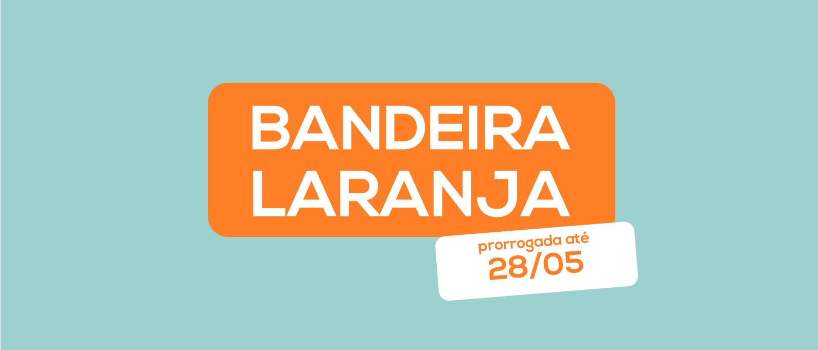 CURITIBA PRORROGA DECRETO DA BANDEIRA LARANJA ATÉ SEXTA-FEIRA (28/05) [+]