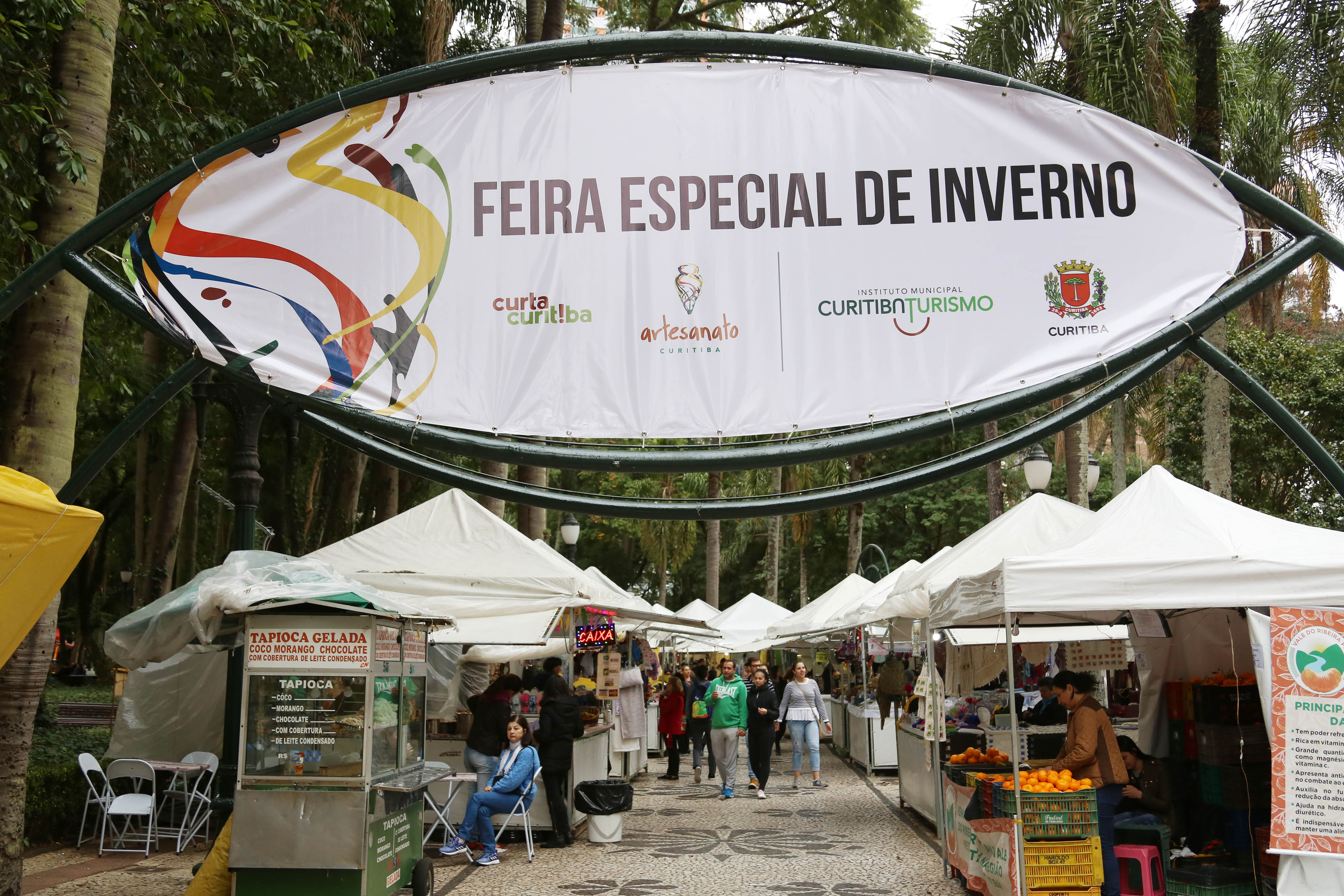 As tradicionais feiras de inverno estão de volta, em Curitiba, a partir desta quinta-feira (17/06)